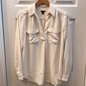 Ann Taylor Camp Shirt size Small, new without tags